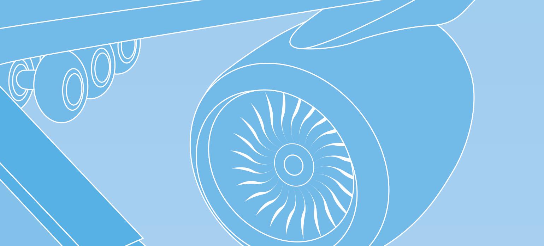 Effiziente Flugzeugantriebe