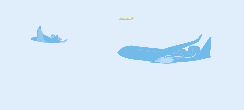 Flugzeuge von morgen